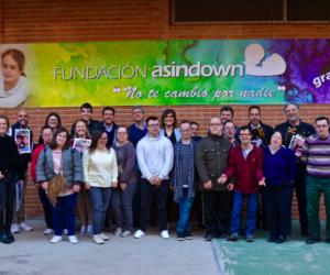 Más de 60 inmobiliarias de Asicval visitan la fundación Asindown